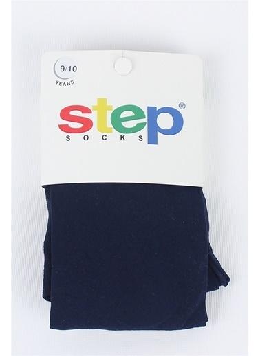 Step Çorap step Micro Çocuk Külotlu Çorap Lacivert